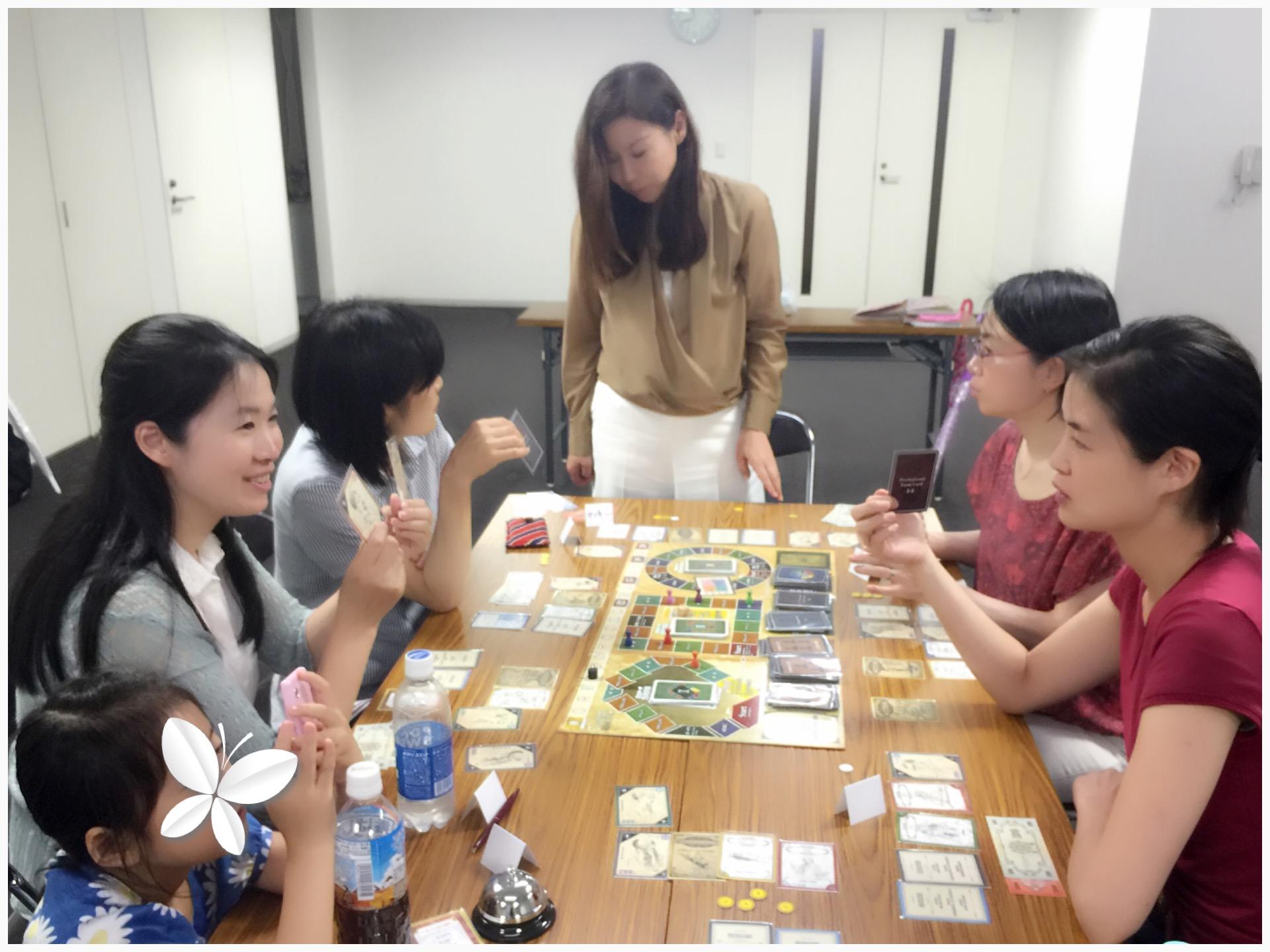 「7つの習慣 ボードゲーム会・東京開催」本日も 成功のスパイラルアップできました!