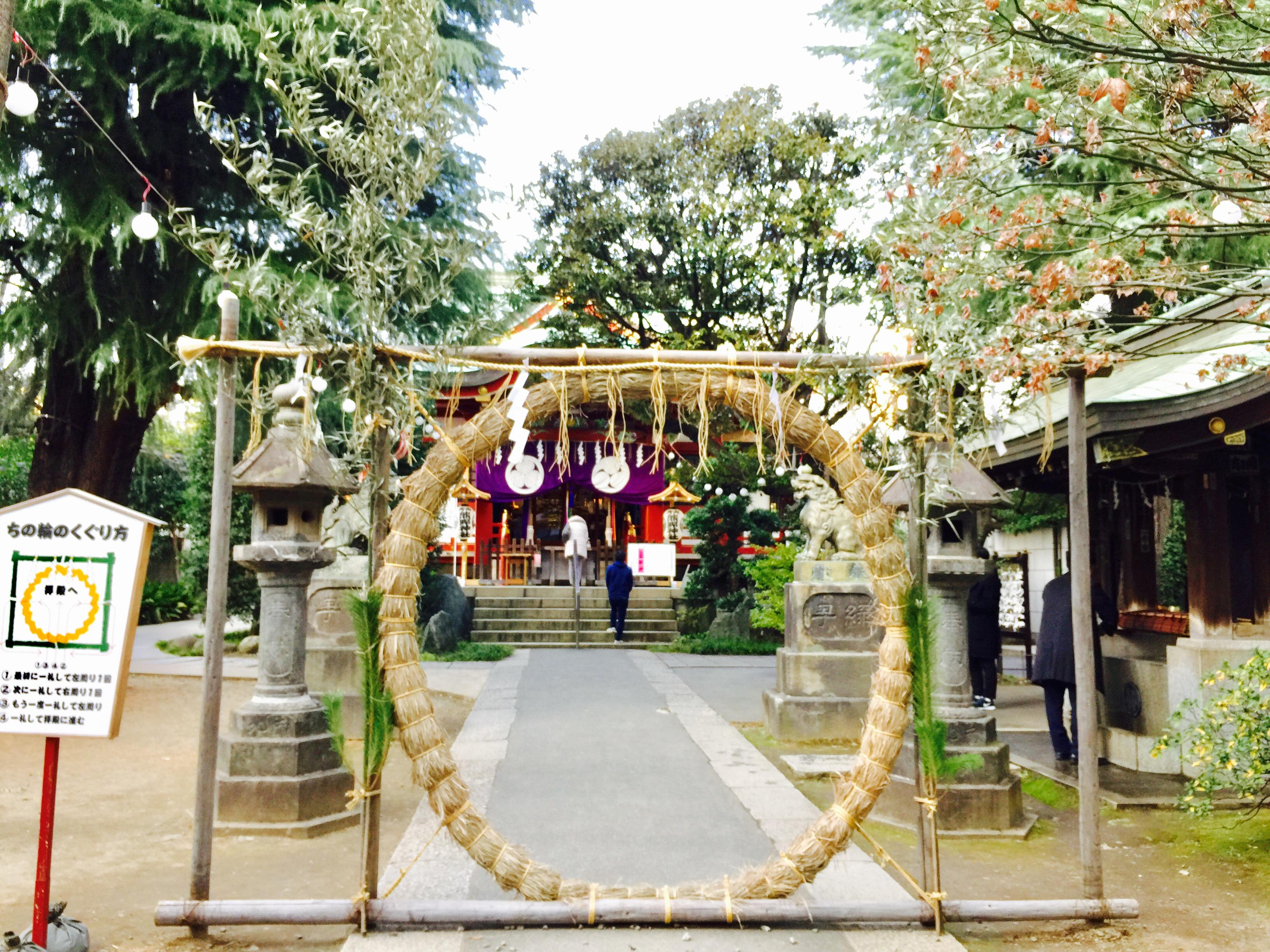 東京の「ちの輪くぐり」と 京都の友人が運んできた「新春の贈りもの」♪