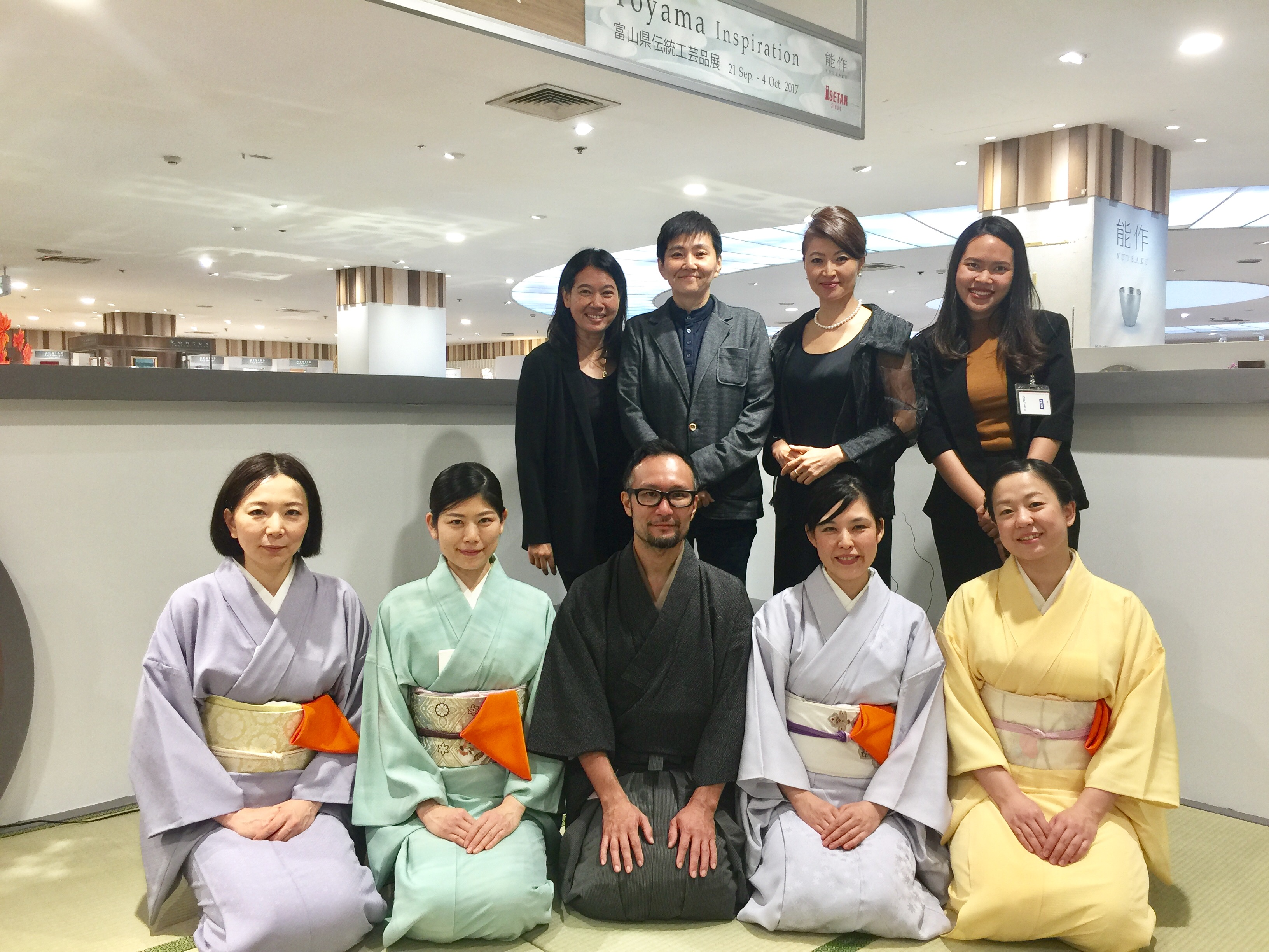 【Japanese Tea Ceremony with Tea Master・茶会】タイ・バンコク 伊勢丹にて